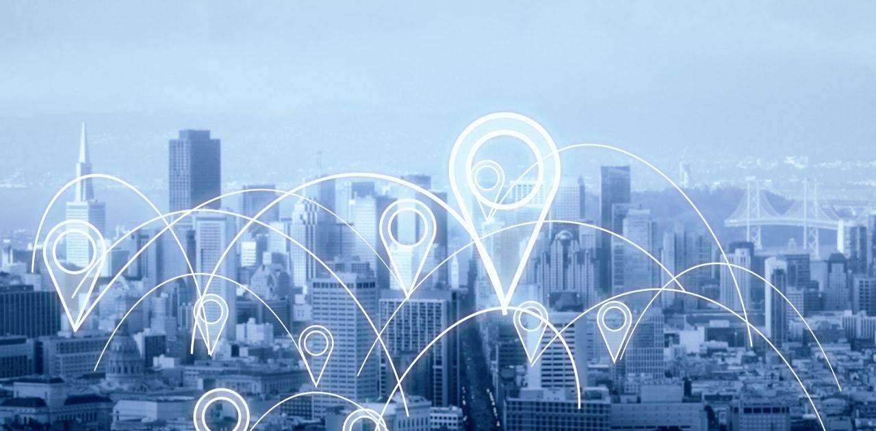 今日のビジネス、未来のビジネス。 地理でサポート。
